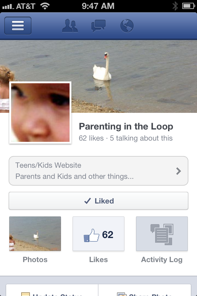 Parenting in the Loop Facebook