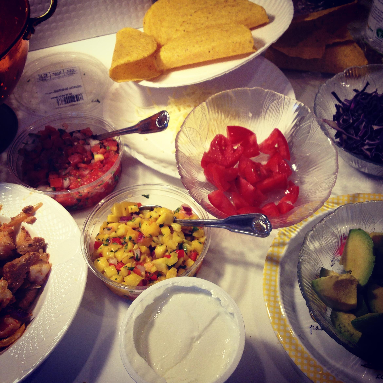 Weekend foods