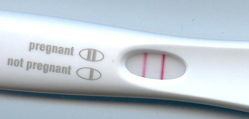 found out pregnancy test