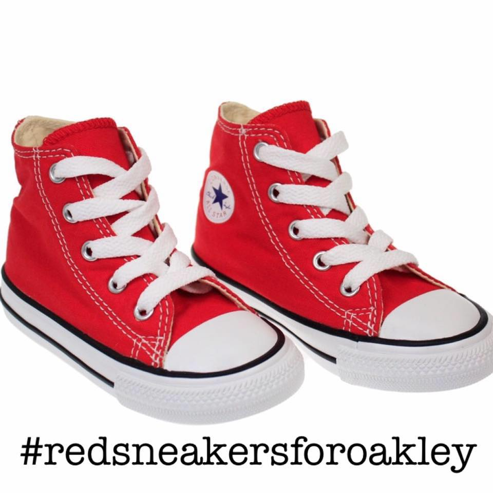Weekend pick- Red Sneakers for Oakley